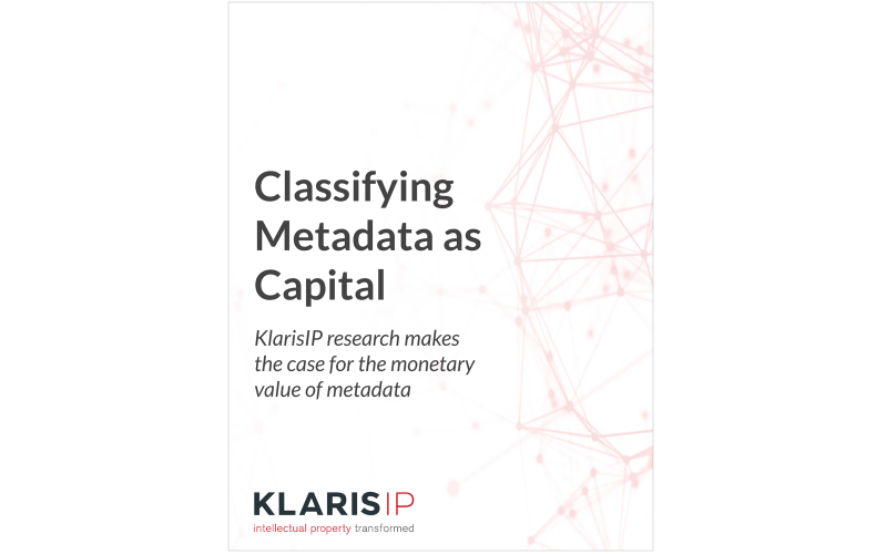 White Paper: Classifying Metadata As Capital